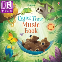 【中商原版】静听音乐声 Quiet time music book 发声书 低幼启蒙 Usborne