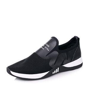 Senda/森达2017秋季时尚运动风个性舒适男休闲鞋B132ACM7