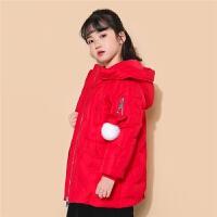 2018女童羽绒服冬季新款儿童保暖加厚洋气韩版宝宝轻薄中长款潮