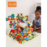 兔妈妈积木玩具拼装大颗粒儿童3-6周岁宝宝益智男孩子10女孩legao