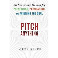 【预订】Pitch Anything: An Innovative Method for Presenting