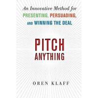【预订】Pitch Anything: An Innovative Method for Presenting