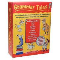 Grammar Tales Box Set 英文原版 学乐美国小学语法学习故事图画书10册附家长指导手册 家庭育儿 英