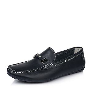 BASTO/百思图春季专柜同款牛皮男休闲鞋ABV22AM6