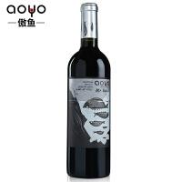 傲鱼AOYO智利原瓶进口红酒 劳尔先生梅洛精酿半干红葡萄酒750ml*1
