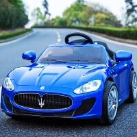 四轮童车遥控汽车儿童电动车宝宝可坐人双驱玩具车