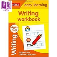 【中商原版】柯林斯易学儿童1:写作练习册 3-5岁 Writing Workbook Ages 3-5 亲子英文 写作学