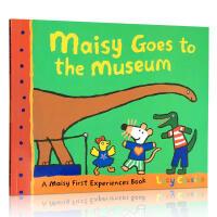 英文原版 Maisy Goes to the Museum 小鼠波波去博物馆 认知趣味亲子绘本读物