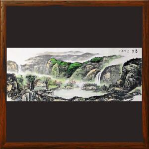 1.8米山水画《乾坤聚玉》实力画家松涛 边秀后R2672