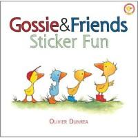 Gossie and Friends Sticker Fun 小鹅戈西与朋友们的贴纸游戏 ISBN 9780547643007