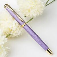 英雄(HERO)1520绒砂男女多彩细尖铱金礼品钢笔/墨水笔 钢笔 英雄钢笔 签字笔 办公文具 紫色 当当自营