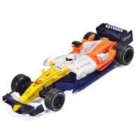 F1方程式赛车仿真合金车模 儿童玩具声光回力男孩小汽车模型