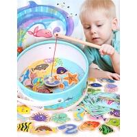 宝宝钓鱼儿童玩具磁性玩具小猫钓鱼