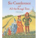 【预订】Sir Cumference and All the King's Tens Y9781570917271