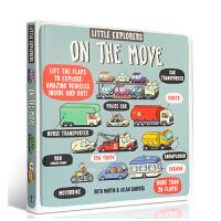 进口英文原版 Little Explorers on the Move 小探险家在行动科学百科故事读物精装翻翻书All