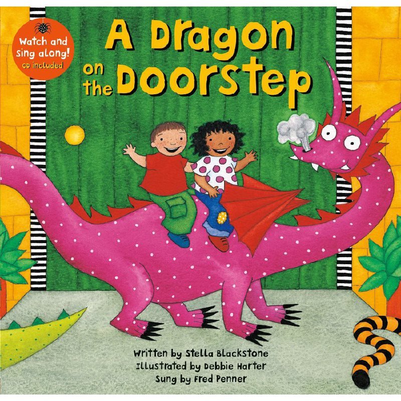 A Dragon on the Doorstep (A Barefoot Singalong)门前的龙(书+CD)ISBN9781846868269