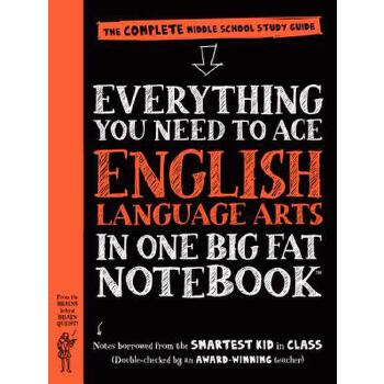 【预订】Everything You Need to Ace English Language Arts in One Big Fat Notebook: The Complete Middle School Study Guide 预订商品,需要1-3个月发货,非质量问题不接受退换货。