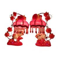 婚庆台灯 卧室床头灯 红色婚房台灯温馨结婚礼物惊喜的礼物节日礼品圣诞礼物