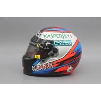豪华定制F1一级方程式赛车模型头盔Bell 1:2法拉利莱科宁2018美国品质定制新品