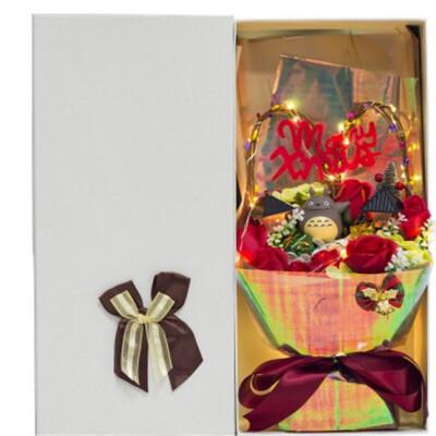 龙猫玩偶礼盒创意生日礼物毕业礼物20情人节礼物礼品  30厘米-39厘米 发货周期:一般在付款后2-90天左右发货,具体发货时间请以与客服协商的时间为准