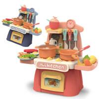 儿童过家家小厨房玩具套装宝宝女孩男孩女童小孩仿真厨具做饭煮饭1