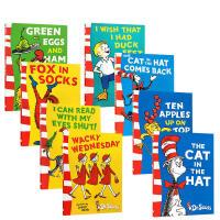 【全店300减100】英文原版 fox in socks/green eggs and ham/ten apples/D