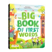 【全店300减110】第一个单词唯美认知大书Big Book of :First Words