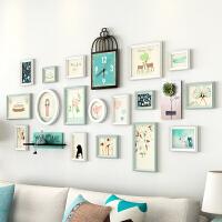简约现代墙上相框挂墙组合创意个性儿童房相片墙地中海照片墙装饰