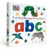英文原版 The Very Hungry Caterpillar's ABC饥饿的毛毛虫的ABC1-3岁儿童 英语启蒙
