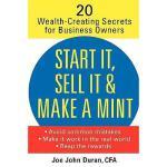 【预订】Start It, Sell It, & Make A Mint: 20 Wealth Crea