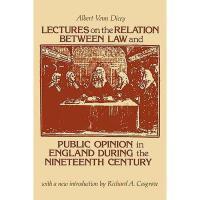 【预订】Lectures on the Relation Between Law and Public