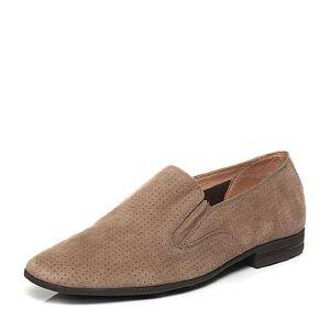 BATA/拔佳夏季专柜同款羊绒皮男单鞋81C03BM6