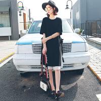 韩都衣舍17韩版女装夏季新款套装裙宽松中长两件套连衣裙
