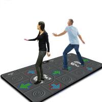 20180602162656046跳舞毯双人彩色硅胶豆按摩健身手舞足蹈电视电脑两用 加厚家用游戏高清体感摄像头跳舞机