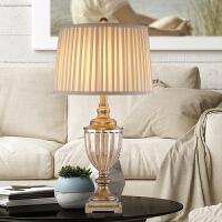 现代卧室床头灯欧式书房客厅卧室样板房软装桌灯