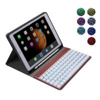苹果2018新款iPad Pro11英寸蓝牙键盘Air/Air2 9.7纤薄保护套带笔槽分体夜光型10.5防摔外壳