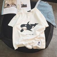 情侣夏装2018新款日系风短袖T恤韩版潮流学生宽松半袖