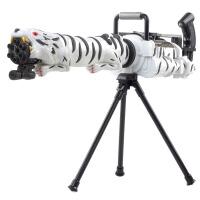 宜佳达 玩具枪 可发射水晶弹子弹 连发软弹 电动狙击枪玩具 YJ320战雷白虎