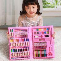 儿童绘画笔套装水彩笔幼儿园画画玩具美术工具男孩女孩生日礼物品