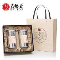 艺福堂茶叶 2017新茶春茶 绿茶 西湖龙井茶态度茶农明前礼盒200g