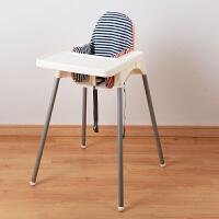 儿童餐椅家用商用婴儿餐桌椅宝宝吃饭椅bb凳可叠加
