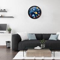挂钟客厅卧室静音现代个性大号时钟石英钟表挂表