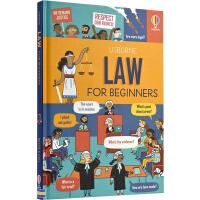预售 Usborne Law for Beginners 读懂法律 英文原版 儿童英语启蒙绘本 少儿科学科普读物 尤斯伯