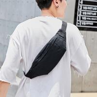 男士腰包潮流时尚胸包户外运动跑步腰包韩版单肩斜挎包迷你小背包