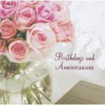 【预订】Birthdays and Anniversaries