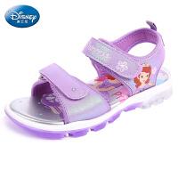 迪士尼凉鞋夏季儿童凉鞋夏季沙滩鞋男童鞋女童休闲运动鞋
