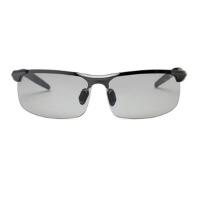 日夜两用开车墨镜司机眼睛太阳镜男士变色偏光镜浅色眼镜