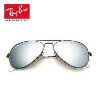 RayBan雷朋太阳镜男女款蛤蟆镜个性优雅潮流彩膜反光镜面0RB3025 029/30