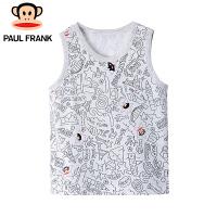 PMC1823059大嘴猴(paul frank)儿童打底内衣夏款无袖小背心