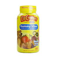 【网易考拉】【健康宝宝吃饭香香】L'il Critters 丽贵 儿童辅食复合多种维生素小熊软糖 190粒/瓶